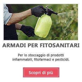 Armadi fitofarmaci, armadi fitosanitari, armadi per pesticidi