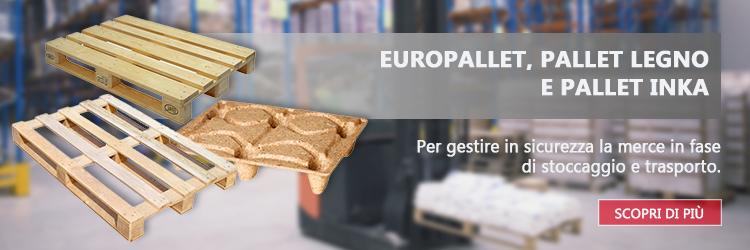 Bancali Epal, europallet, pallet legno e pallet INKA