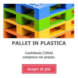 Pallet in plastica e bancali in plastica