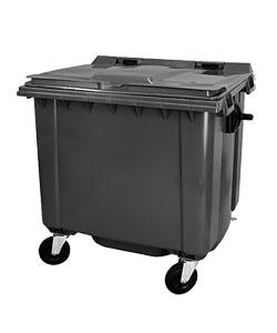 Cassonetti spazzatura, immondizia e raccolta differenziata rifiuti
