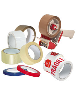 Nastro adesivo e scotch di carta per imballaggio