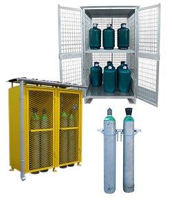 Armadi e depositi bombole gas e gpl