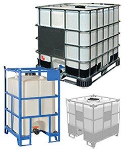 Cisterne in plastica, cisterne IBC e cisternette