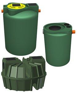 Degrassatori per il trattamento primario dei reflui domestici e acque grigie