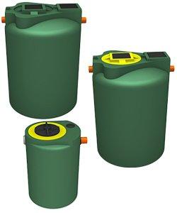 Filtri olio percolatori per il trattamento secondario dei reflui domestici e acque nere
