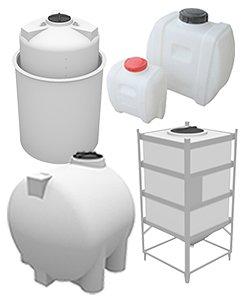 Serbatoi per prodotti chimici e alimentari in polietilene