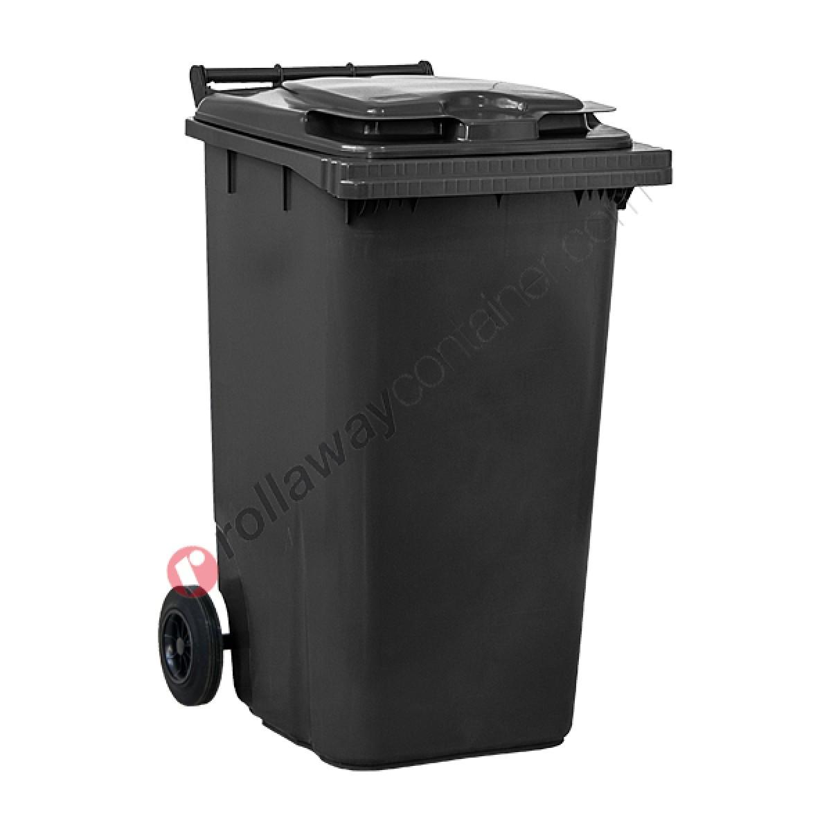 Box Per Bidoni Spazzatura bidoni raccolta differenziata spazzatura e immondizia da 240 litri con 2  ruote