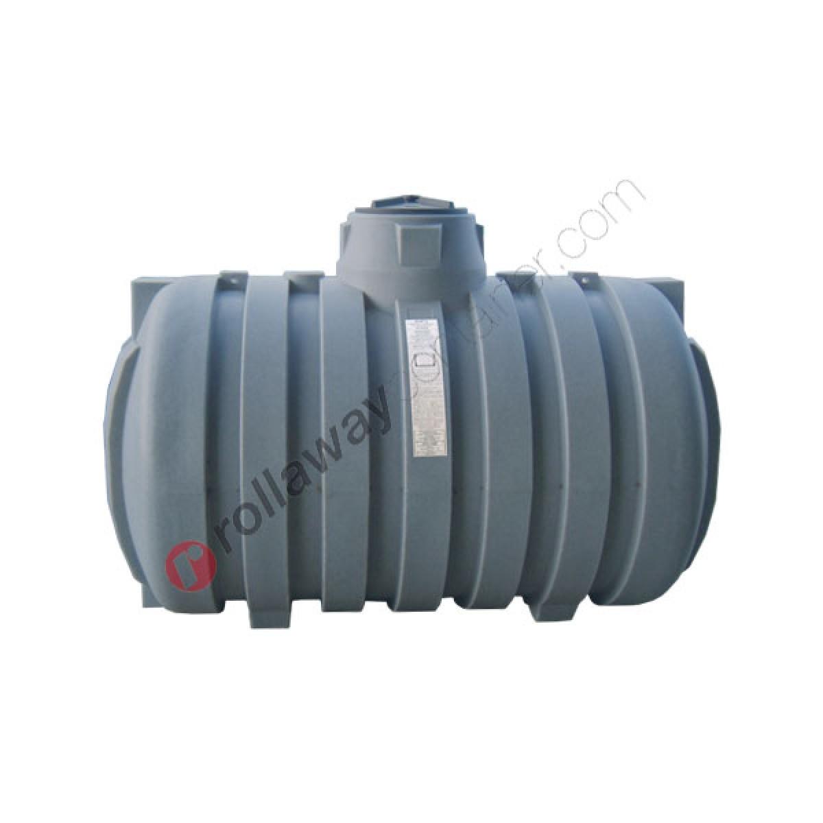 Cisterna Acqua Piovana Da Interro Cilindrica Orizzontale Con