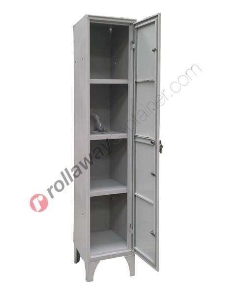 Armadio casellario ispezionabile in metallo 4 ante con serratura