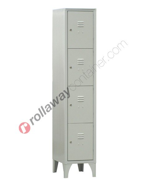 Armadio casellario in metallo 4 ante con serratura