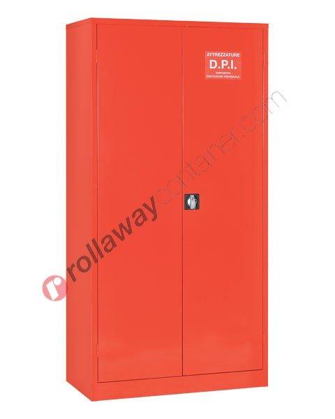 Armadio porta DPI e antincendio con 2 ante cieche 1000 x 500 H 2000 mm