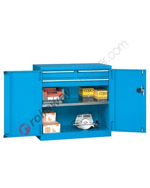 Armadio officina industriale 1023x555 H 1000 2 ante cieche