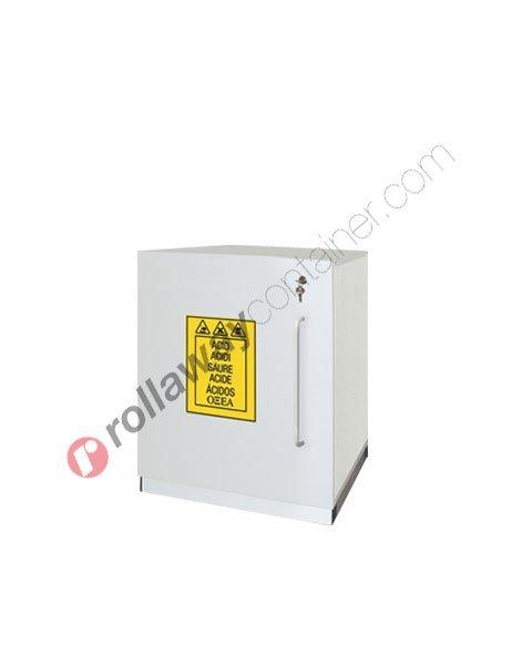 Armadio per prodotti chimici non infiammabili idrofugo con anta cieca 560 x 500 H 700 mm