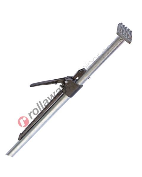 Barra o palo fermacarico tonda telescopica in acciaio zincato da mt 2,30 a mt 2,60