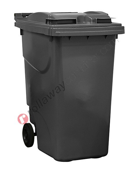 Bidoni raccolta differenziata spazzatura e immondizia da 360 litri con 2 ruote