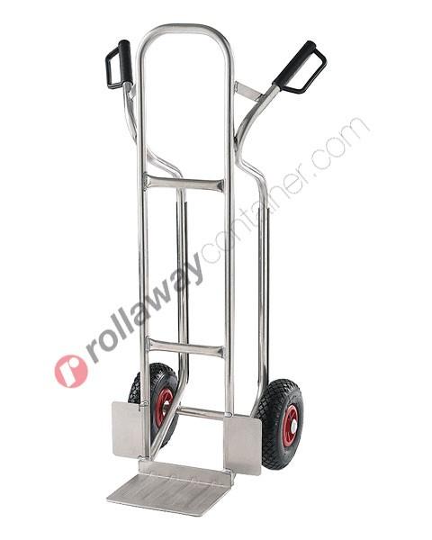 Carrello portapacchi alti in alluminio portata kg 150 Rambo Light
