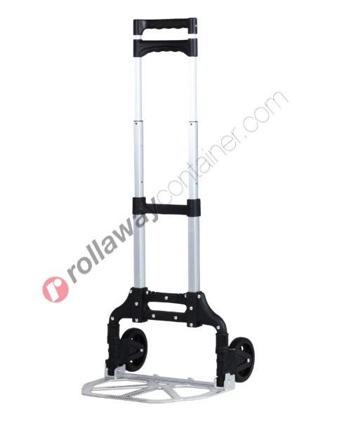 Carrello portapacchi pieghevole in alluminio portata kg 70 Compact
