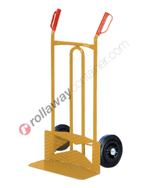 Carrello portatutto ruote piene e pedana rinforzata portata kg 300 Golia P