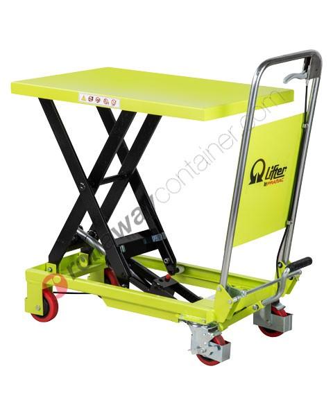 Carrello sollevatore a pantografo professionale Pramac portata Kg 150