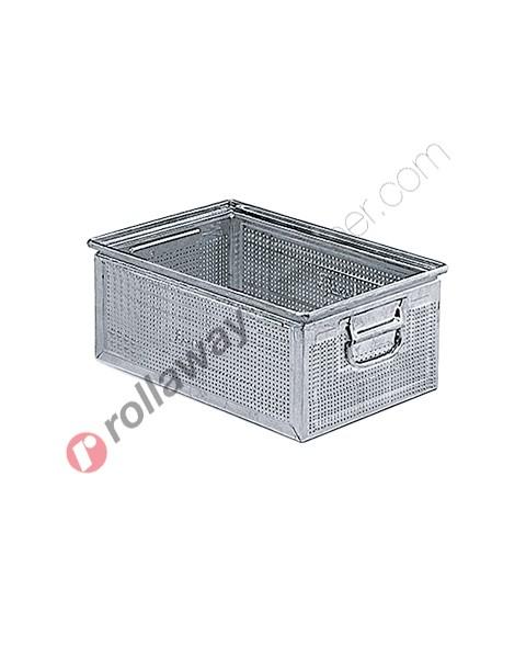 Cassetta metallica forata 450 x 300 H 200