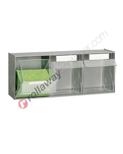 Cassettiera portaminuteria mm 600 x 209 H 240 con 3 cassetti