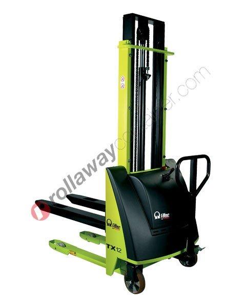 Carrello elevatore elettrico a spinta manuale Kg 1000 Pramac TX10 1150 x 750 mm