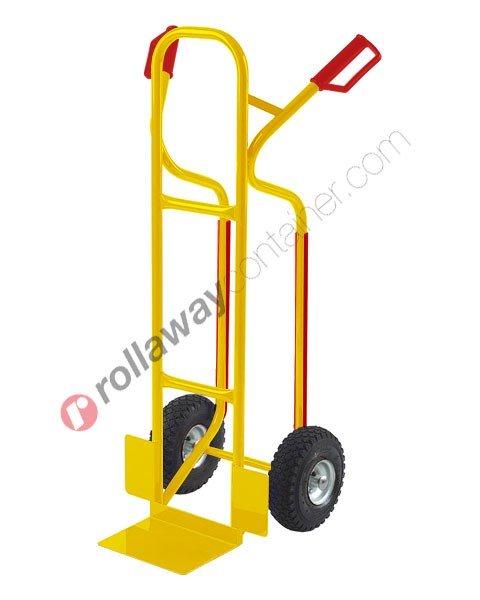 Carrello portapacchi alti ruote piene portata kg 250 Rambo