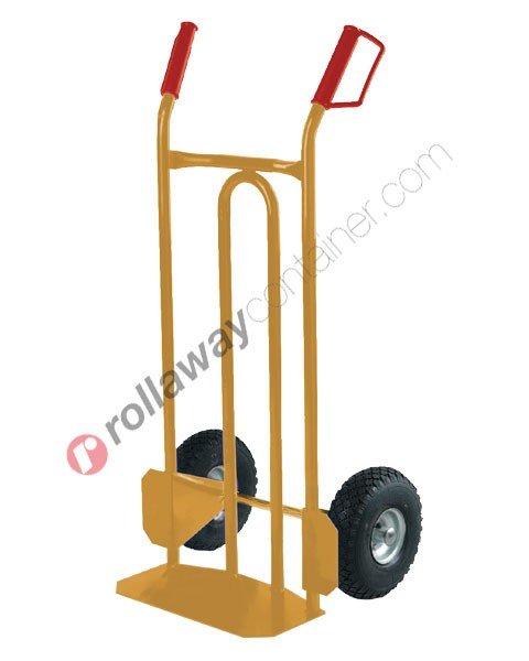 Carrello portapacchi ruote piene portata kg 300 Tyson