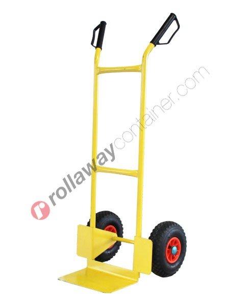 Carrello portapacchi ruote pneumatiche portata kg 200 Hulk P