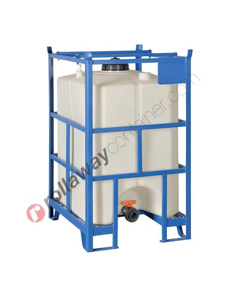 Cisterna in plastica a norma ADR/IMDG omologata UN 500 litri