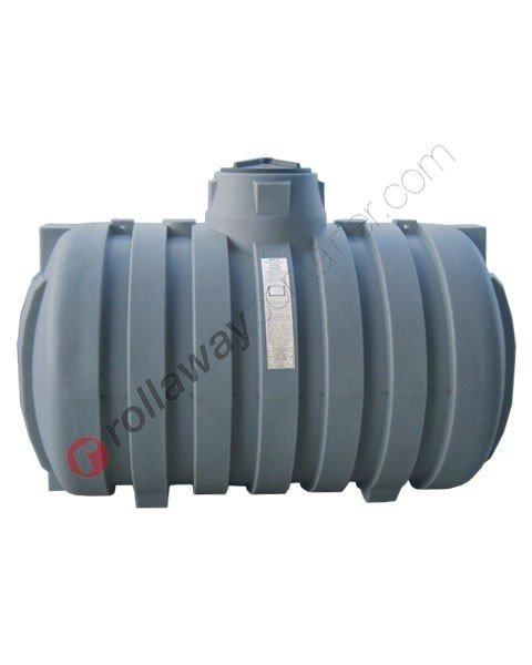 Cisterna acqua piovana da interro cilindrico orizzontale coperchio a vite da 3000 a 12000 litri