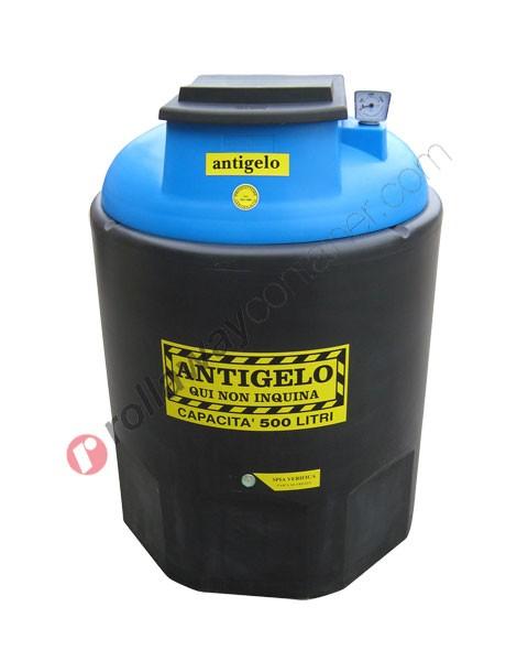 Contenitore olio esausto antigelo da 260 a 1200 litri in HDPE Ecoil Duplex