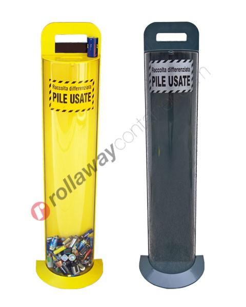 Contenitore pile esauste in plastica capacità 10 litri