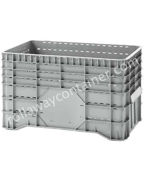 Contenitore in plastica 1020 x 640 H 580 medio litri 300 forato