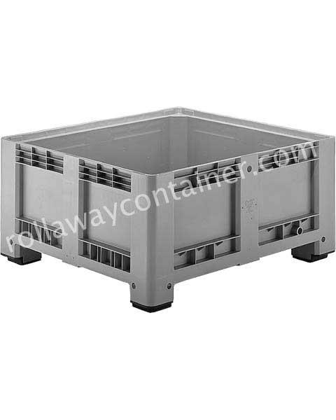Contenitore in plastica 1200 x 1000 H 580 pesante litri 430