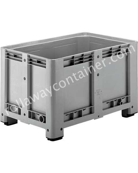 Contenitore in plastica 1200 x 800 H 760 pesante litri 470