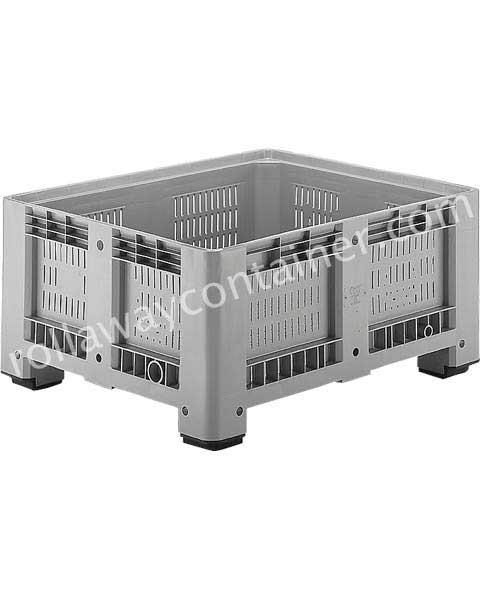 Contenitore in plastica 1200 x 1000 H 580 pesante litri 430 forato