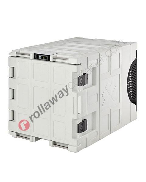 Contenitore refrigerato biomedicale 140 litri apertura frontale