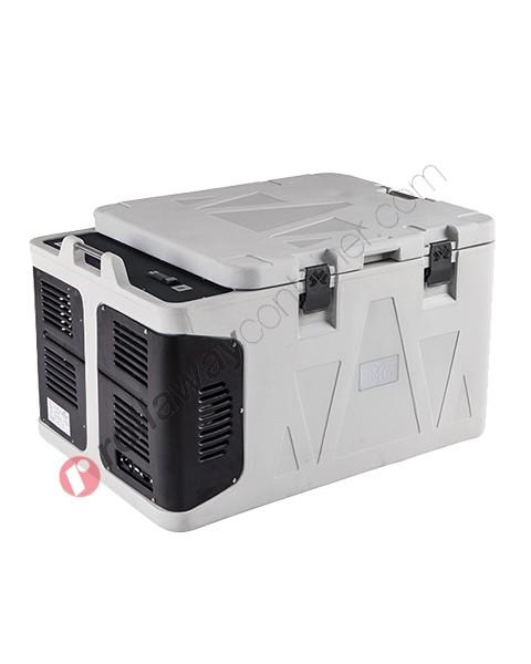 Contenitore refrigerato biomedicale 160 litri apertura superiore