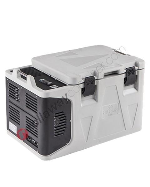 Contenitore refrigerato biomedicale 50 litri apertura superiore
