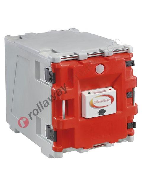 Contenitore termico 150 litri con porta attiva