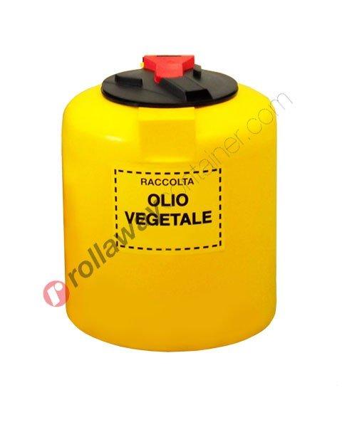 Contenitore olio esausto vegetale monoparete da litri 150