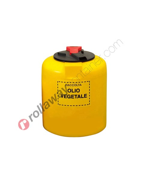 Contenitore olio esausto vegetale monoparete da litri 50
