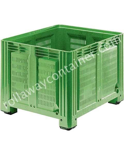 Bins in plastica 1200 x 1000 H 850 pesante litri 760 forato