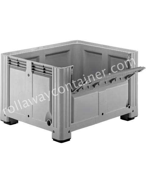 Contenitore in plastica 1200 x 1000 H 760 pesante litri 680