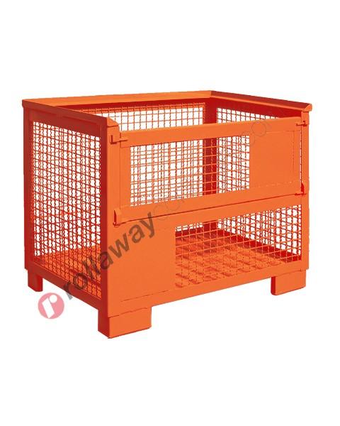 Contenitore in rete metallica pesante sovrapponibile al gitterbox
