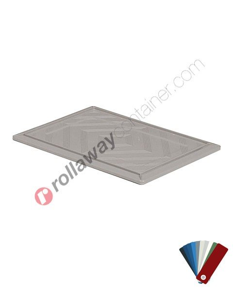Coperchio per cassetta in plastica impilabile 600 x 400 mm