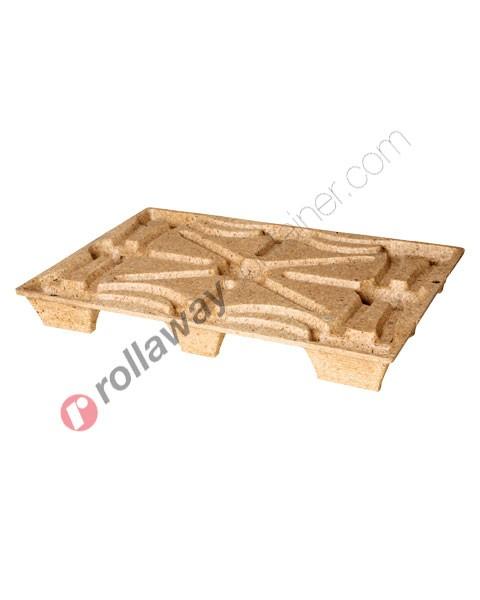 Pallet Inka in legno pressato 800 x 1200 mm serie media