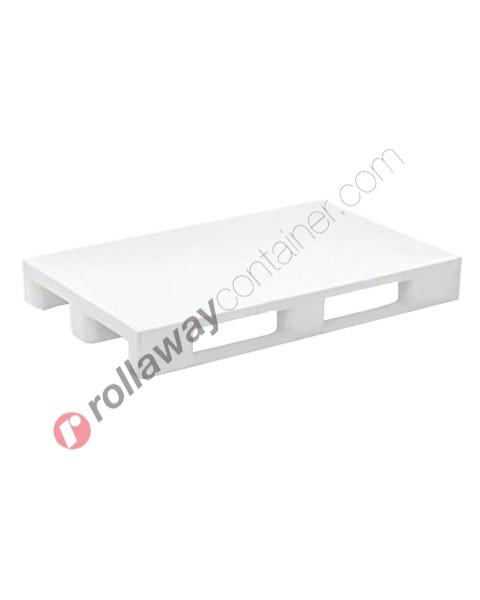 Pallet in plastica HDPE igienico chiuso mm 800 x 1200