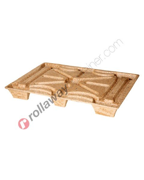Pallet Inka in legno pressato 800 x 1200 mm serie leggera